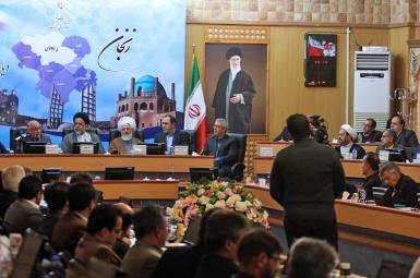 محمود علوی در جلسه شورای اداری استان زنجان