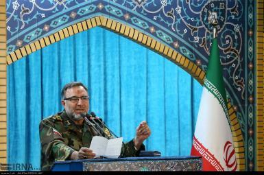 سرتیپ کیومرث حیدری، فرمانده نیروی زمینی ارتش ایران