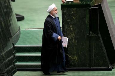 حسن روحانی در جلسه سؤال از رییس جمهوری در مجلس