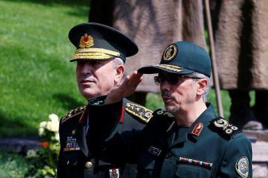 ایران و ترکیه همکاریهای نظامی