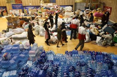 ارسال کمکهای مردمی به مناطق آسیب دیده