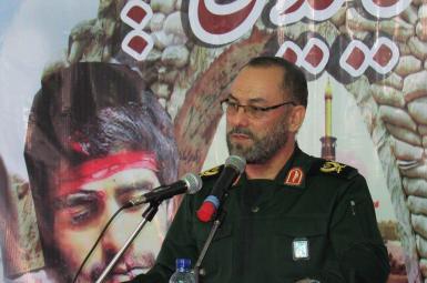 محمدحسین رجبی، فرمانده سپاه بیتالمقدس استان کردستان (تصویر آرشیوی)