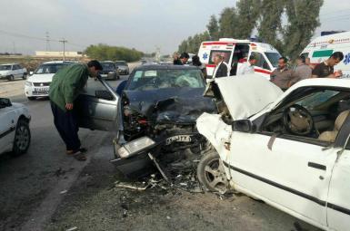 تصادفات جادهای در ایران