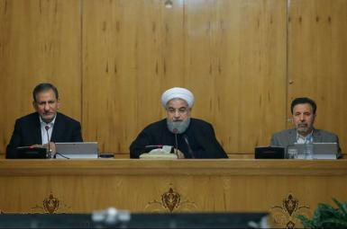 حسن روحانی رئیس جمهور ایران در جلسه روز چهارشنبه دوم اسفندماه هیأت دولت در واکنش به حوادث اخیر خیابان پاسداران تهران