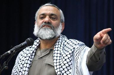 Brigadier-General Mohammdreza Naghdi, a top commander of Iran's IRGC. FILE