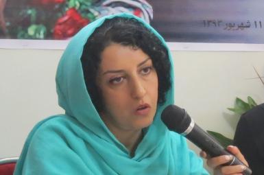 نرگس محمدی، نائب رییس کانون مدافعان حقوق بشر