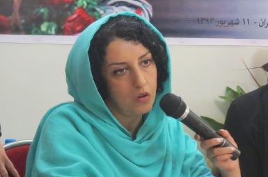 نرگس محمدی فعال حقوق بشر و زندانی سیاسی