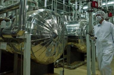 Iran's nuclear enrichment facility in Natanz. FILE