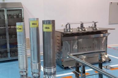 Various types of Iranian centrifuges for uranium enrichment. FILE