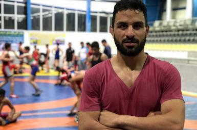 Navid Afkari a protester and champion wrestler who was executed in Iran on September 12, 2020
