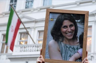 نازنین زاغری که به «اتهام جاسوسی» در ایران زندانی است