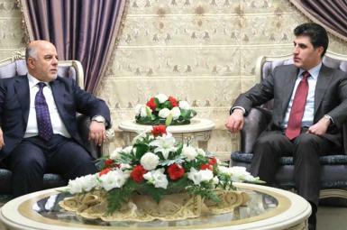 نیچیروان بارزانی با حیدر العبادی