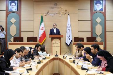 نشست خبری عباسعلی کدخدایی، سخنگوی شورای نگهبان