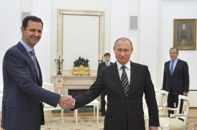 ولادیمیر پوتین و اسد
