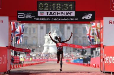 الیود کیپ چوگه، دونده کنیایی