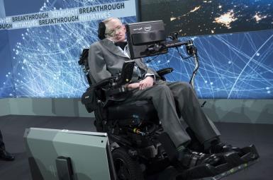استیون هاوکینگ، ستاره کیهانشناسی مدرن
