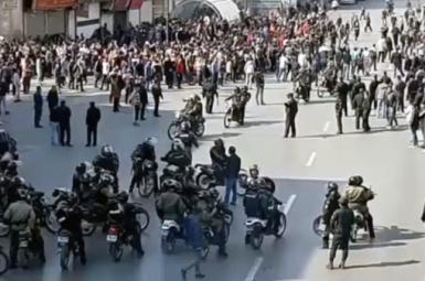 Protests in Iran in November 2019