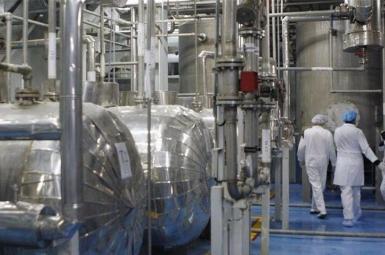 Iran's uranium enrichment facility at Natanz. FILE PHOTO