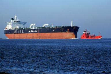 An Iranian oil tanker in the Persian Gulf. FILE PHOTO