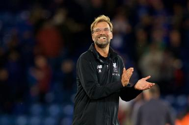 یورگن کلوپ، سرمربی تیم فوتبال لیورپول پس از پیروزی برابر لسترسیتی