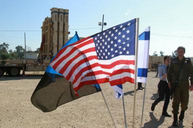 مانور نظامی مشترک ارتشهای آمریکا و اسرائیل