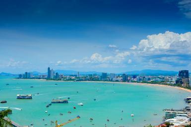 شهر ساحلی پاتایا در تایلند