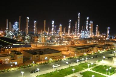 A petrochemical plant in southern Iran. FILE