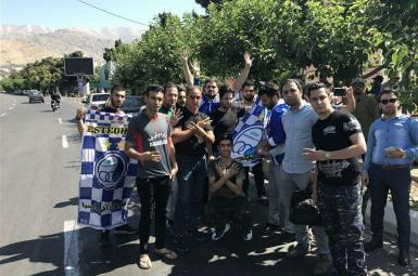 هواداران تیم فوتبال استقلال تهران
