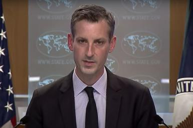 Ned Price, US State Department spokesman. FILE