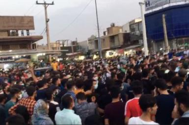 Protests in Iran's Khuzestan Province. July 20, 2021