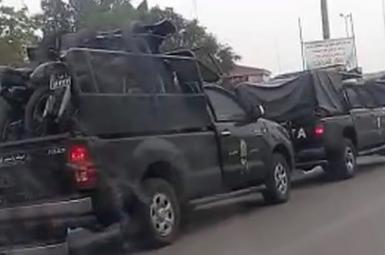 اعزام نیروهای امنیتی کمکی از لرستان برای مقابله با اعتراضات خوزستان