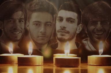 Four of the protesters killed by security forces in Iran in July 2021