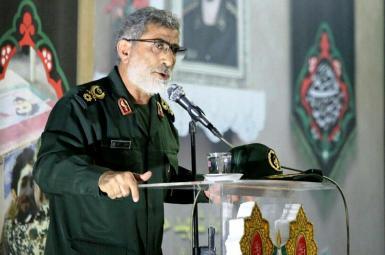 Esmail Ghaani, commander of the Quds Force. File