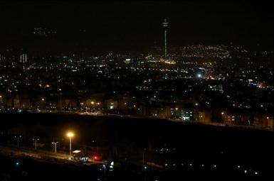 Blackout in in Iran's capital Tehran. May 22, 2021