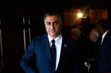 Exiled Prince Reza Pahlavi who lives in the United States. FILE