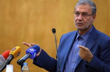 President Hassan Rouhani's spokesman, Ali Rabiei. FILE