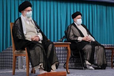 Ali Khamenei and Ebrahim Raisi. August 3, 2021