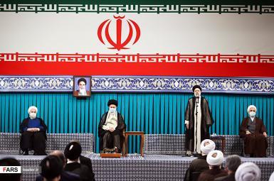 Iran President Ebrahim Raisi's endorsement ceremony. August 3, 2021