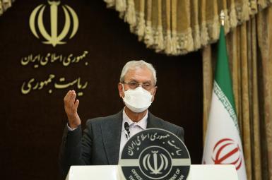The spokesman of president Hassan Rouhani's administration Ali Rabiei. FILE