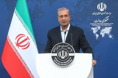 Ali Rabiei, spokesman of Iran's presidential administration. June 8, 2021