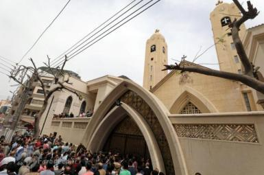 انفجار در کلیسایی در مصر