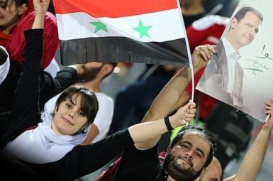 تبعیض میان زنان ایرانی و سوری در بازی فوتبال ایران و سوریه