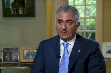 Exiled Prince Reza Pahlavi says he favors a republic in Iran. FILE