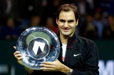 راجر فدرر با قهرمانی در تنیس روتردام تاریخ ساز شد