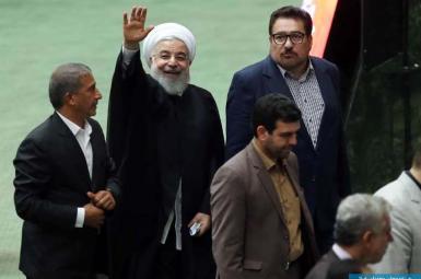 جلسه بررسی صلاحیت ۴ وزیر پیشنهادی روحانی در مجلس