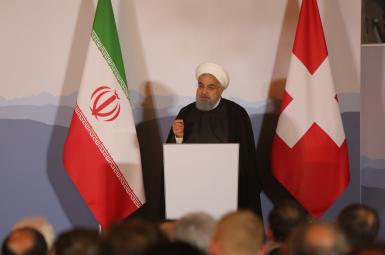 حسن روحانی، رییس جمهوری اسلامی ایران در سوییس