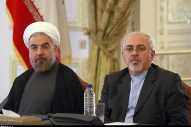 President Hassan Rouhani and Foreign Minister Javad Zarif. FILE