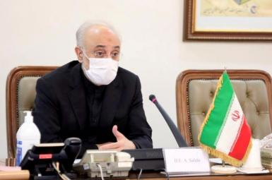 Ali Akbar Salehi, head of Iran's Atomic Energy Commission. FILE