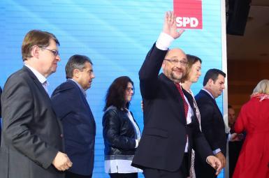 استعفای رهبر حزب سوسیالدموکرات آلمان