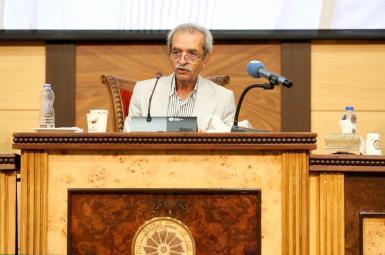 Gholam-Hossein Shafei, head of Iran's Chamber of Commerce. FILE PHOTO